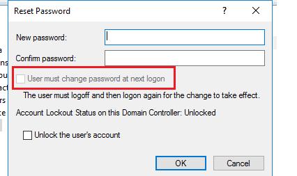 change password at next logon powershell