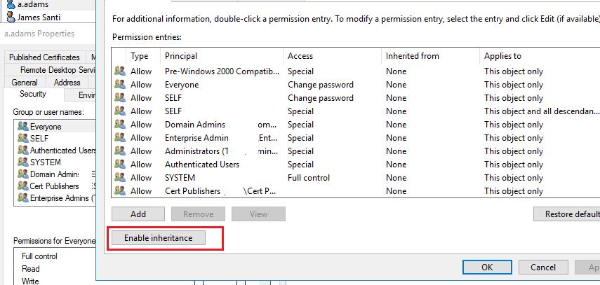 must change password at next logon