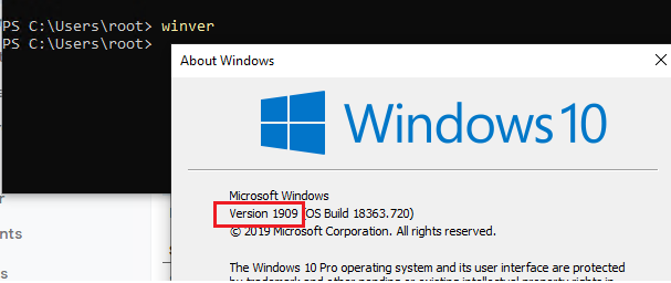 ssh into windows 10