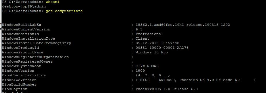 enable ssh windows 10