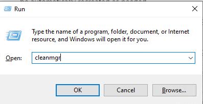 delete temporary files windows 10