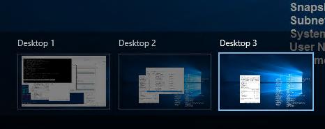 different desktops windows 10