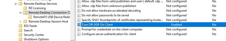 rdp an internal error has occurred server 2016
