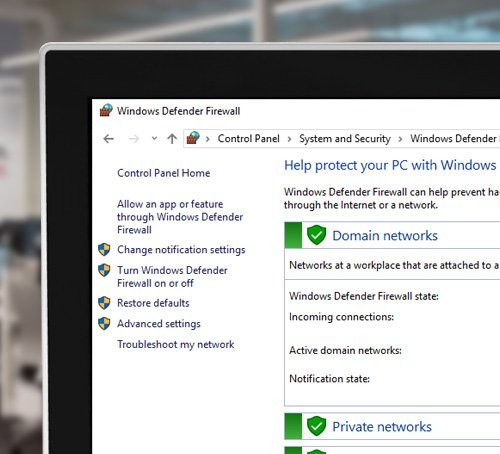 Advanced Security on Windows 10