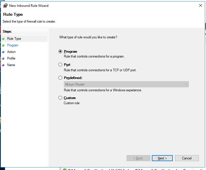windows firewall with advanced security on windows 10