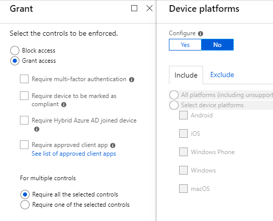 conditional access policies office 365