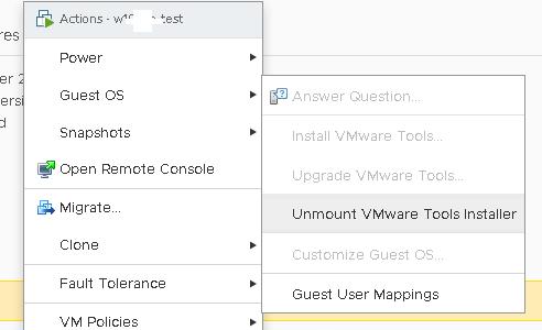 windows install vmware tools