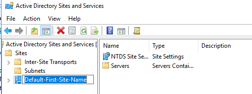 Configuring Active Directory Sites and Subnets