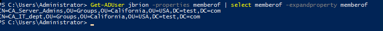 nesting group active directory