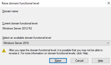 check forest functional level