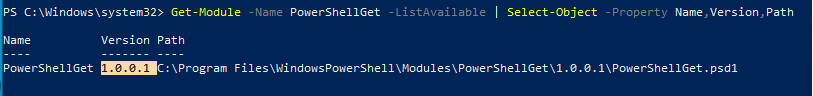 azure active directory module for windows powershell