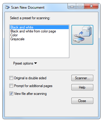 Microsoft Office Document Scanning Tool