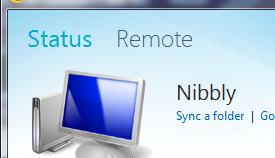 Sync Folder - Windows Live Mesh