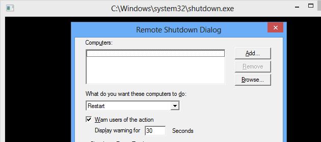 remote-shutdown