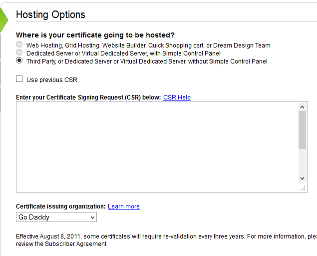 SSL-hosting-options