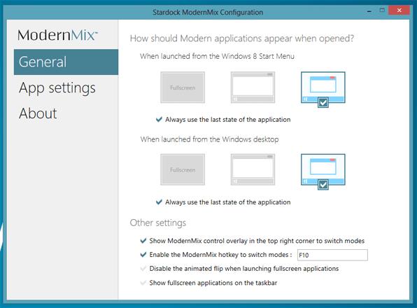 modernmix-general-settings