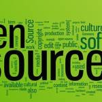 Open source word cloud illustration