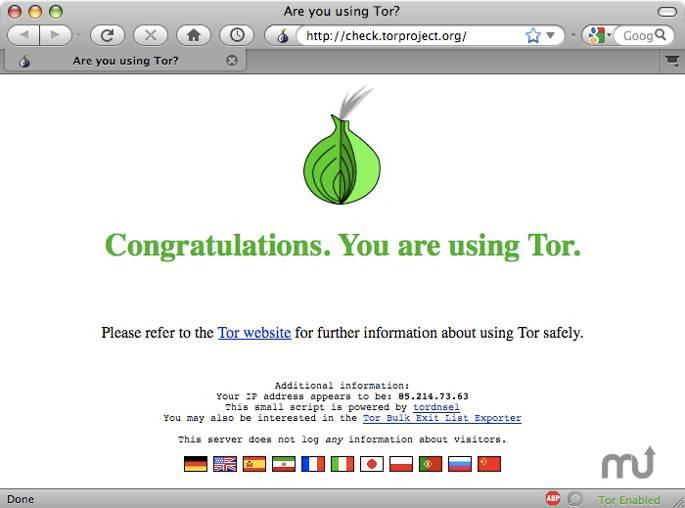 Top Linux Apps - Tor