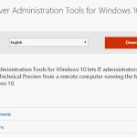administration tools windows 10