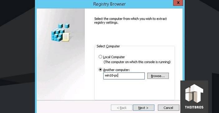 registry browser