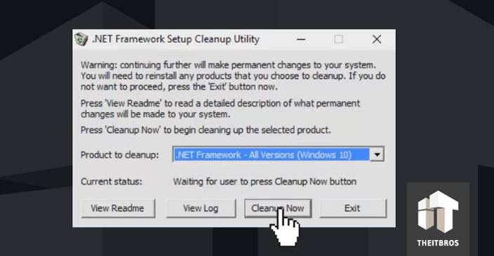 net framework cleanup utility