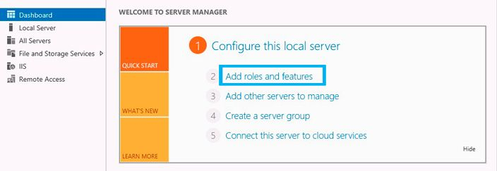 configure local server