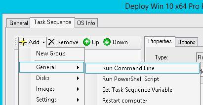 run command line